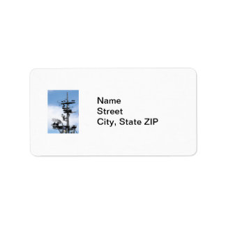 Radar Address Label
