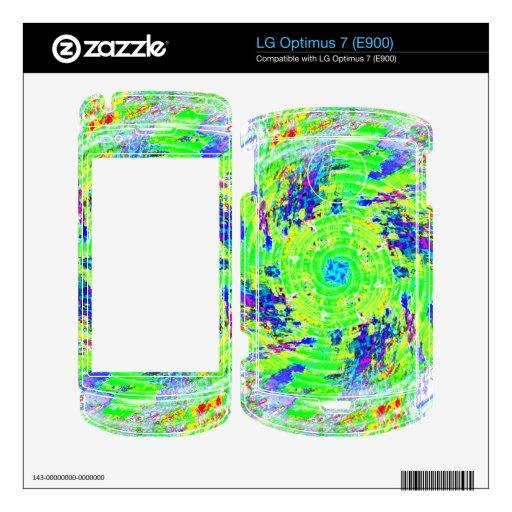 Radar LG Optimus 7 Skin