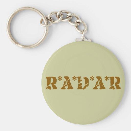 Radar Llavero Redondo Tipo Pin