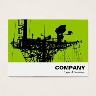 Radar Mast - Martian Green Business Card