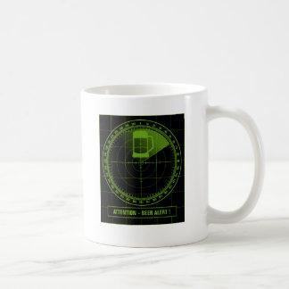 radar more beer alert coffee mug