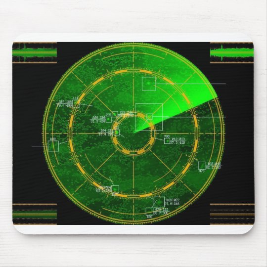 radar mouse pad