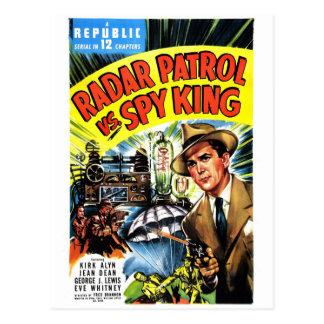 Radar Patrol Vs. Spy King Postcard