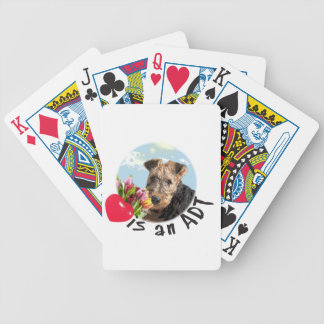 Radar's selection bicycle playing cards