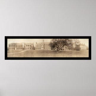 Radcliff Cambridge, foto 1910 del mA Póster
