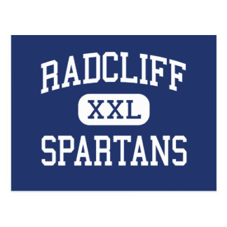 Radcliff Spartans Middle Radcliff Kentucky Postcard