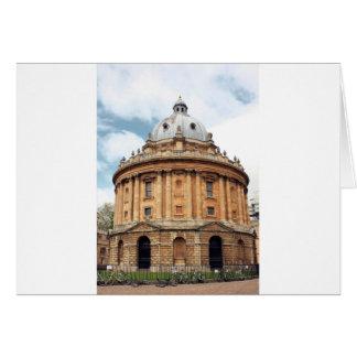 Radcliffe, cámara, biblioteca de Bodleian, Oxford Tarjeta De Felicitación