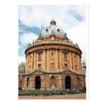 Radcliffe, cámara, biblioteca de Bodleian, Oxford Postal