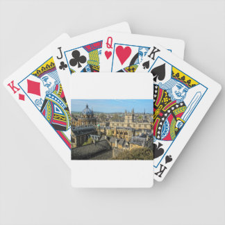Radcliffe Camera and Bodleian Library Oxford Bicycle Playing Cards