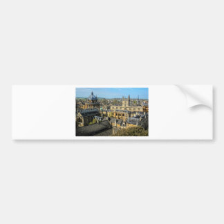 Radcliffe Camera and Bodleian Library Oxford Bumper Sticker