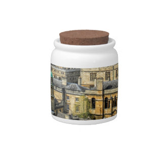 Radcliffe Camera and Bodleian Library Oxford Candy Jar