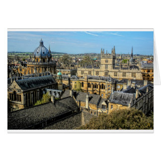 Radcliffe Camera and Bodleian Library Oxford Greeting Card