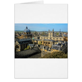 Radcliffe Camera and Bodleian Library Oxford Card