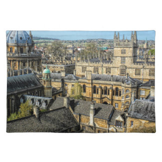 Radcliffe Camera and Bodleian Library Oxford Cloth Placemat