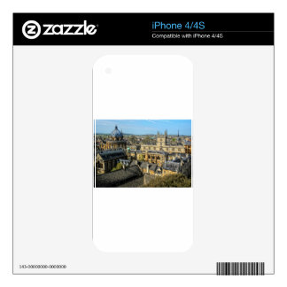 Radcliffe Camera and Bodleian Library Oxford Decals For The iPhone 4S