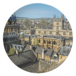 Radcliffe Camera and Bodleian Library Oxford Dinner Plate