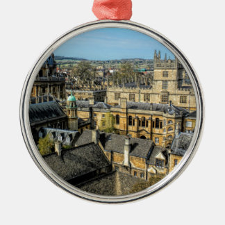Radcliffe Camera and Bodleian Library Oxford Metal Ornament