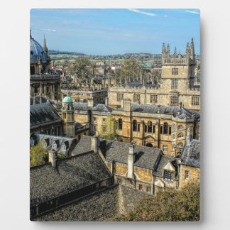 Radcliffe Camera and Bodleian Library Oxford Plaque