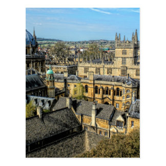 Radcliffe Camera and Bodleian Library Oxford Postcard