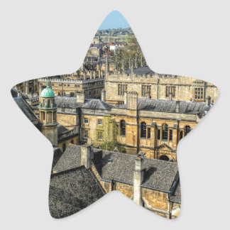 Radcliffe Camera and Bodleian Library Oxford Star Sticker