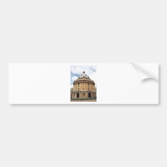 Radcliffe, Camera, Bodleian library, Oxford Bumper Sticker