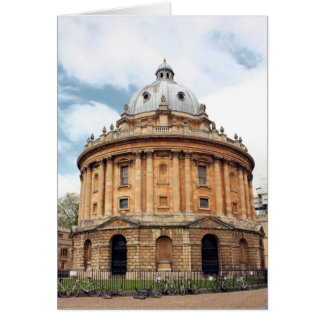 Radcliffe, Camera, Bodleian library, Oxford Greeting Card
