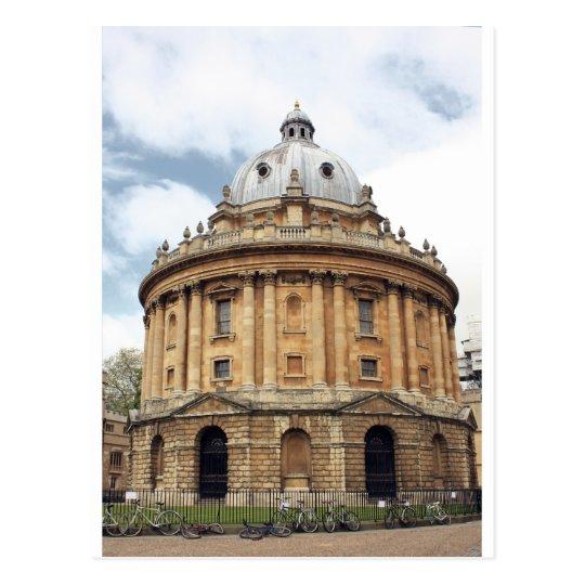 Radcliffe, Camera, Bodleian library, Oxford Postcard