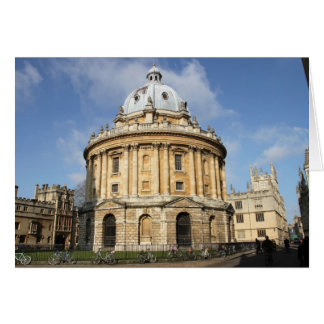 Radcliffe Camera Card
