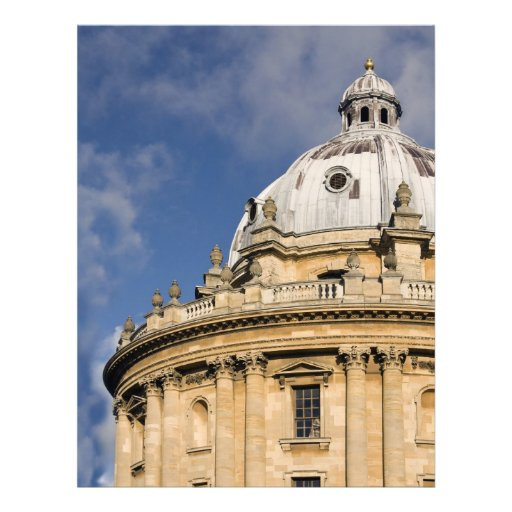 radcliffe camera customized letterhead