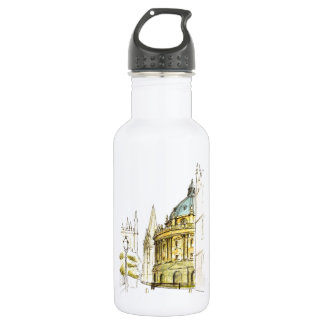 Radcliffe Camera original drawing Stainless Steel Water Bottle
