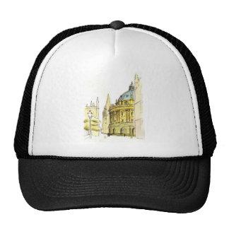 Radcliffe Camera original drawing Trucker Hat
