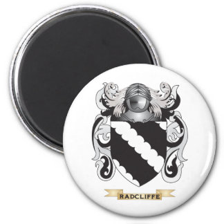 Radcliffe Coat of Arms (Family Crest) 2 Inch Round Magnet