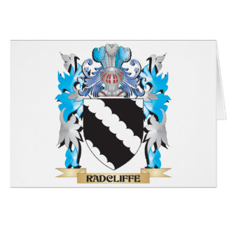 Radcliffe Coat of Arms - Family Crest Card