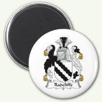 Radcliffe Family Crest Magnet