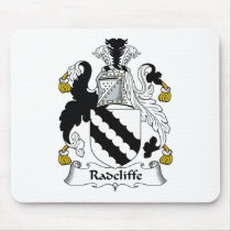 Radcliffe Family Crest Mousepad