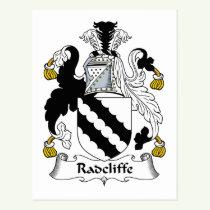 Radcliffe Family Crest Postcard