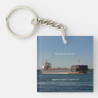 Radcliffe R. Latimer key chain