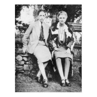 Radclyffe Hall and Una Vincenzo Postcard