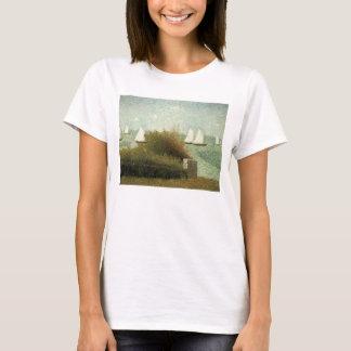 Rade de Grandcamp by Georges Seurat, Vintage Art T-Shirt