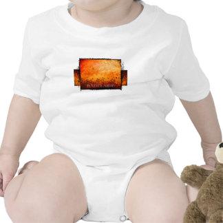 radelaide red rust design teeshirts baby creeper