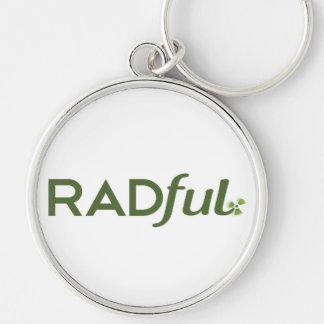 Radful Logo Key Chain