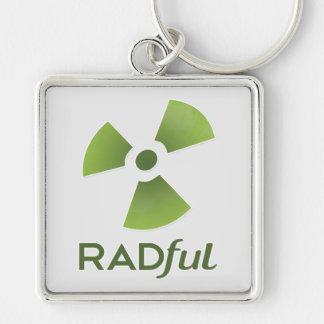 Radful Stacked Logo Key Chain