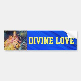 Radha and Krishna bumper sticker
