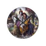 Radha and Krishna Clocks