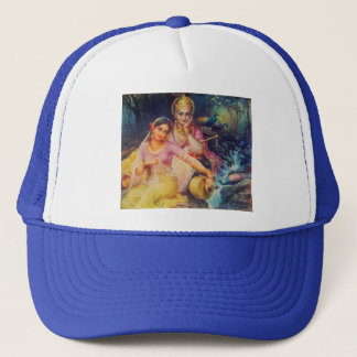 Radha and Krishna hat