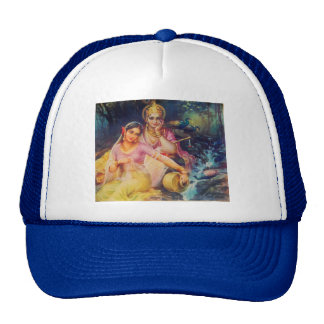 Radha and Krishna hat