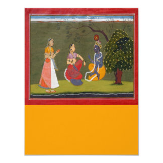 Radha_and_Krishna_in Discussion Card