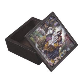 Radha and Krishna Jewelry Box