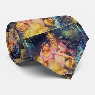 Radha and Krishna tie