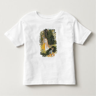 Radha and Krishna walking in a grove Toddler T-shirt